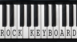 Rock keyboard